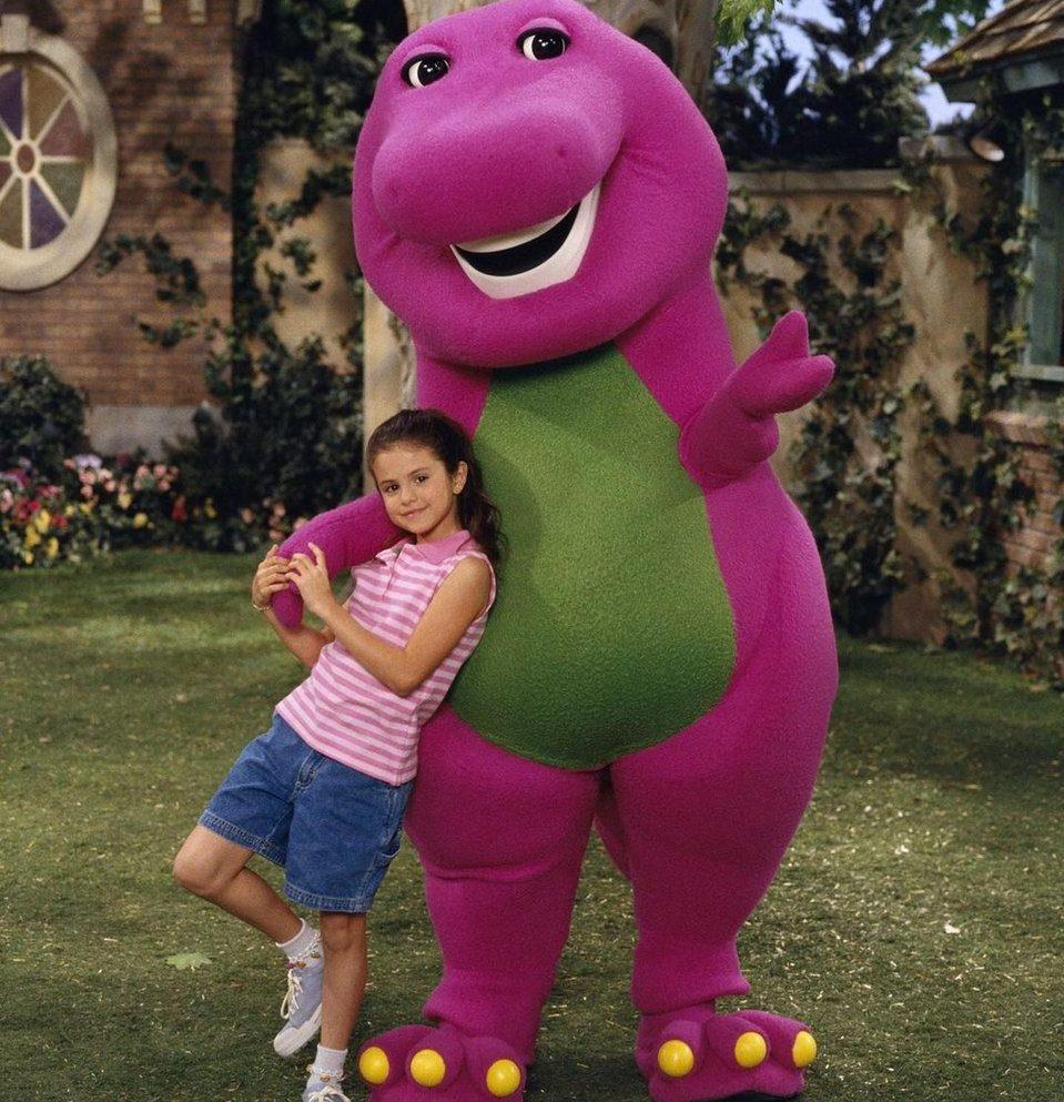 в шоу «Барни и его друзья»