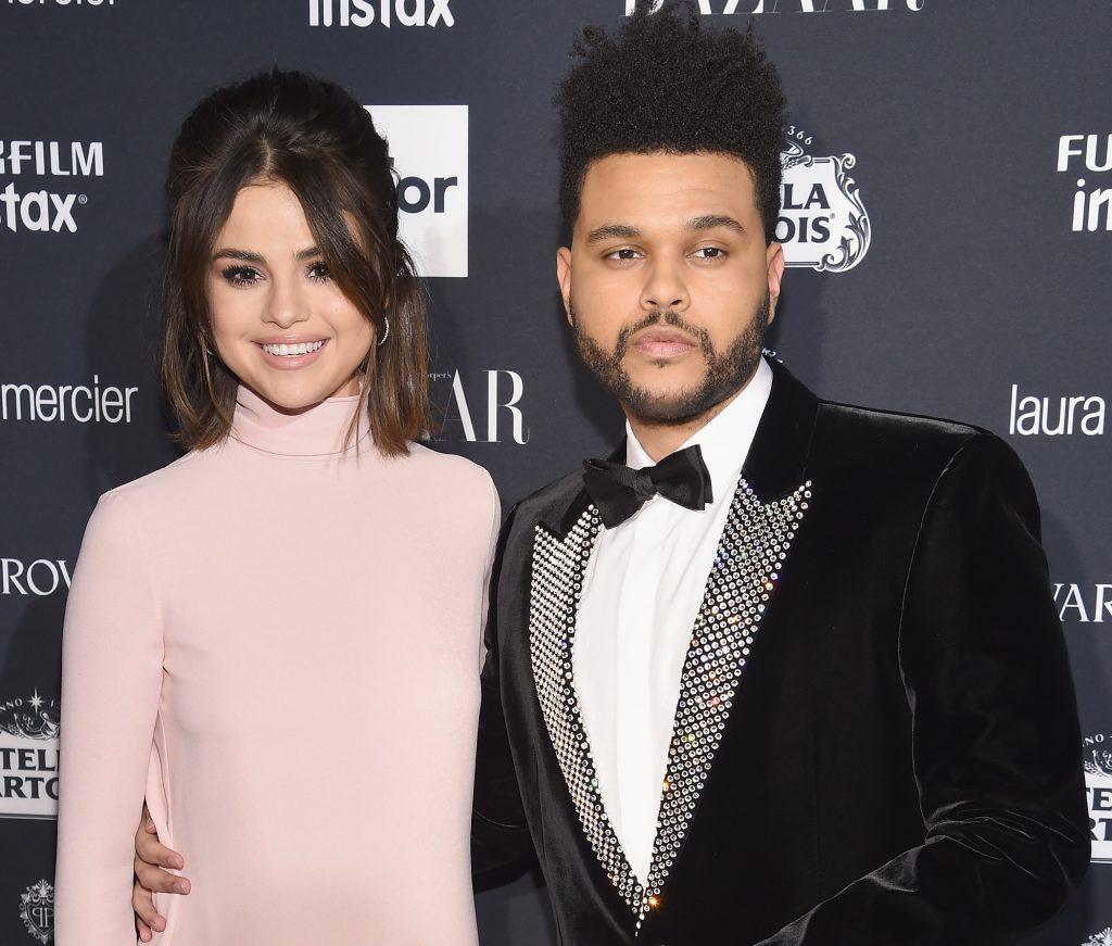с рэпером The Weeknd